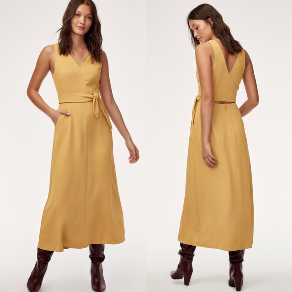 Aritzia Dresses & Skirts - WILFRED Ecoulement Dress